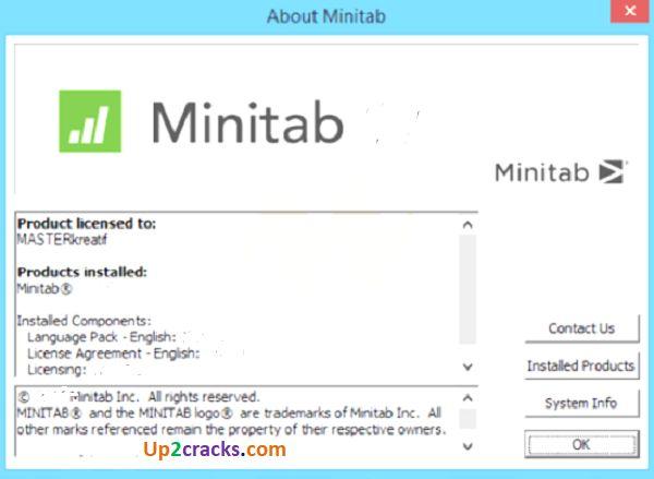 Minitab Crack